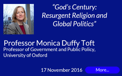Prof Monica Duffy Toft